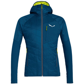 SALEWA Ortles Hybrid Chaqueta TirolWool Celliant Hombre, poseidon